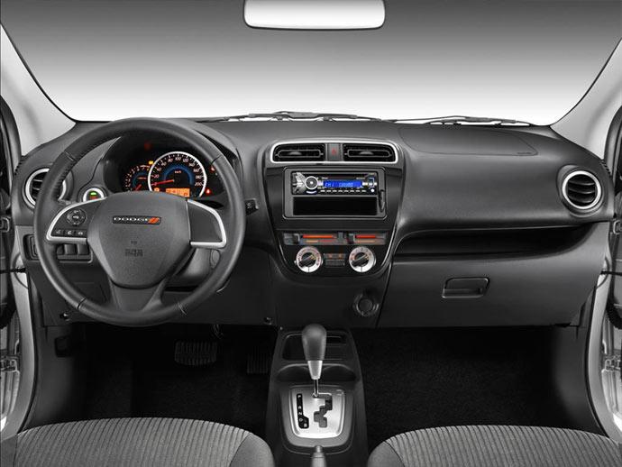 """Photos: Mirage sedan (Attrage) rebranded as """"Dodge Attitude"""" for Mexico - MirageForum.com"""