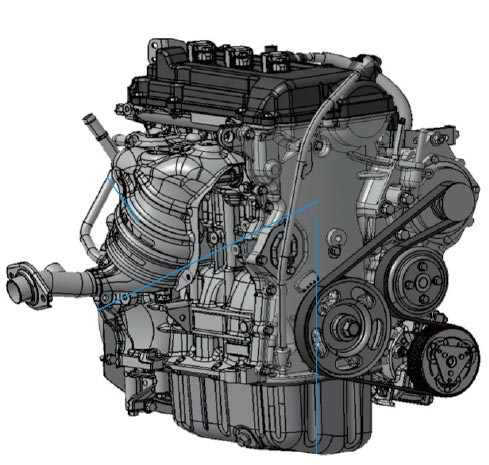 3A90 1.0L 3-cylinder Mirage / Space Star engine info ...