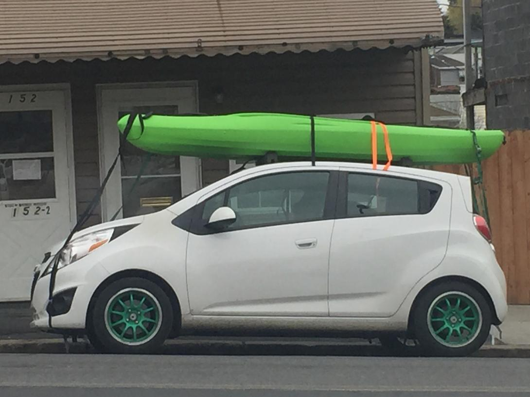 Carrying Kayaks On Roof Does Antenna Come Off Roof