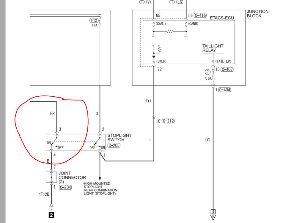 Name:  Brake switch ECU connection.PNG Views: 71 Size:  87.4 KB