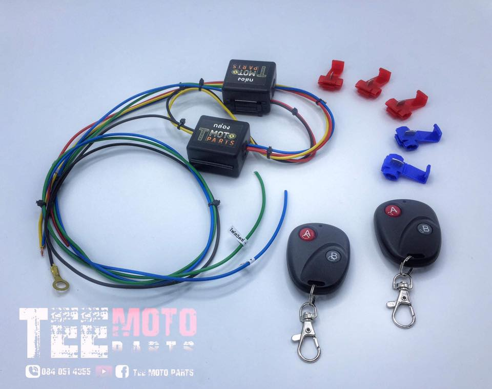Name:  Motorcycle Starter Set with cool remote.jpg