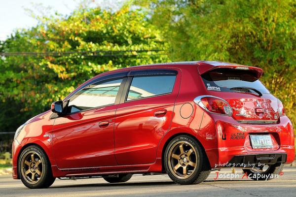Bridgestone Potenza Re050A >> Mini G :: 2013 Mitsubishi Mirage GLS (Garage entry) - Page 3 - MirageForum.com