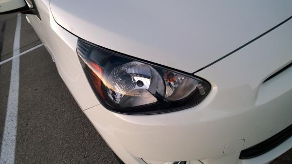 mitsubishi mirage lights choice image
