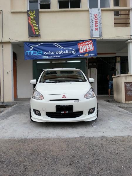 Get lucky 2012 mitsubishi mirage garage entry for Garage mitsubishi valence