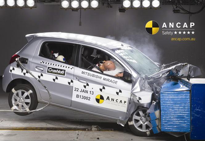 A Crash Test Car Of Mass  Kg